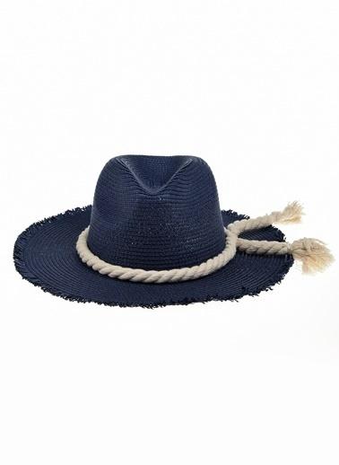 Morhipo Beach Halat Detaylı Şapka Lacivert